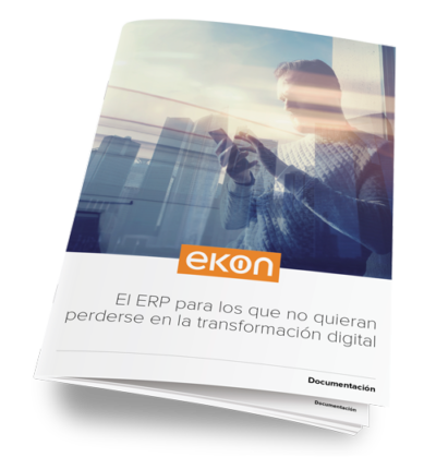 Ekon ERP para comercio. Mas información