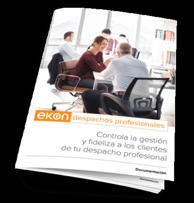 Ekon ERP para empresas de servicios. Mas información