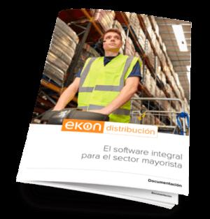 Ekon ERP para distribución. Mas información