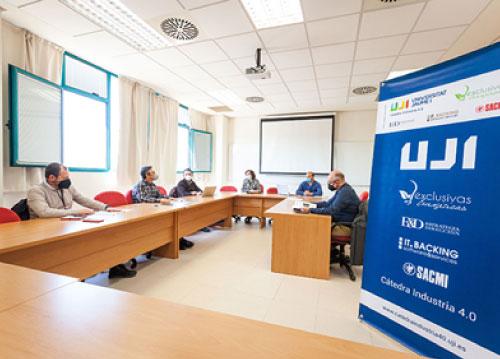 La Cátedra Industria 4.0 de la UJI acometerá importantes proyectos durante este 2021